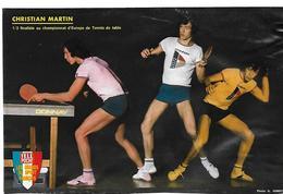 MARTIN Christian - Table Tennis