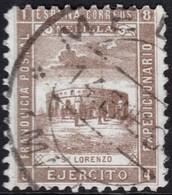 ~~~ Spanish Morocco Maroc Melilla 1894 - San Lorenzo -  (o)  ~~~ - Spaans-Marokko