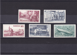 SUEDE 1975   Yvert 895-899 NEUF** MNH - Schweden