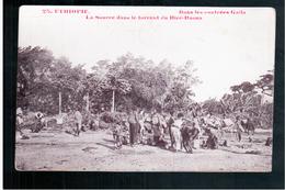 ETHIOPIE Dans Les Contrées Galla - La Source Dans Le Torrent Du Diré-Daona Ca  1905 OLD  POSTCARD - Ethiopië