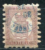 FINLANDE - N° 5 OBL. CAD BLEU DE 1873 - B - 1856-1917 Administración Rusa