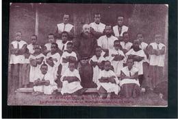 ETHIOPIE Dans Les Contrées Galla - Le Petit Séminaire De La Mission Catholique De Galla Ca  1905 OLD  POSTCARD - Ethiopië