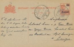 Nederlands Indië - 1930 - 5 Op 12,5 Cent Wilhelmina, Briefkaart G42 Van LB IDI Naar Langsa - Nederlands-Indië