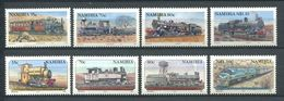 247 NAMIBIE 1994/95 - Yvert 736/43 - Train Locomotive Chemin De Fer - Neuf ** (MNH) Sans Trace De Charniere - Namibië (1990- ...)
