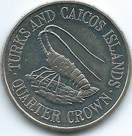 Turks & Caicos Islands - 1981 - Elizabeth II - ¼ Crown - KM51 - Turks En Caicoseilanden