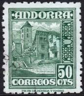 ~~~ Spanish Andorra Andorre 1948 - Definitives - Mi. 46(o)  - Cat. 13.00 Euro  ~~~ - Spaans-Andorra
