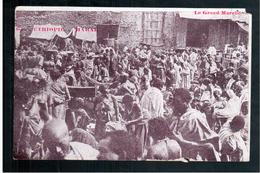 ETHIOPIE  Harar- Le Grand Marche Ca  1905 OLD  POSTCARD - Ethiopië