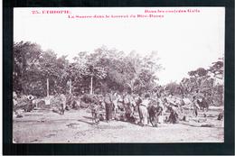 ETHIOPIE  Dans Les Contrées Galla - La Source Dans Le Torrent Du Diré-Daona (2) Ca  1905 OLD  POSTCARD - Ethiopië