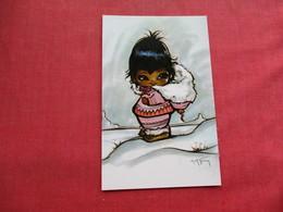 Signed Artist  Midnight Sunshine     Ref 3283 - Indiens De L'Amerique Du Nord