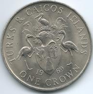 Turks & Caicos Islands - 1969 - Elizabeth II - Crown - KM1 - Turks And Caicos Islands