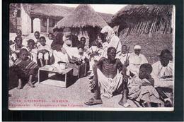 ETHIOPIE HARAR Léproserie Pansement Des Lépreux Ca  1905 OLD  POSTCARD - Ethiopië