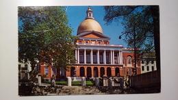 US - Boston - Massachusetts - The State House - 1969 - Boston