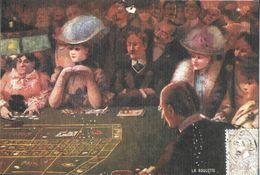 JEU JEUX CASINO TABLE ROULETTE CPM REPRODUISANT CARTE ANCIENNE 1916 SCENE DE LA BELLE EPOQUE  EDIT. ARTAUD - Cartes Postales
