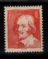 YV 306 N* Callot Cote 12 Euros - Unused Stamps