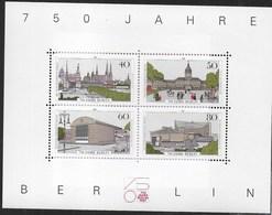 GERMANY - BERLIN - 50° BERLINO 1987 - FOGLIETTO NUOVO** - (YVERT BF 08 - MICHEL BL 08) - [5] Berlino