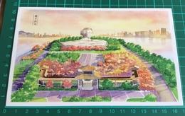 Changsha, China ~ Postcard Print Of Hand Painted Changsha Scene - China