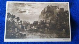 Edinburgh Castle From Greyfriars Church Scotland - Midlothian/ Edinburgh