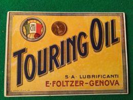 PUBBLICITARIE  Touring Oil Genova - Pubblicitari