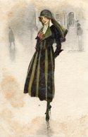 Belle Dame Coquette Dernière Mode Joli Regard Illustré Par MAUZAN - Mauzan, L.A.