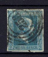 Allemagne - 1857 - N° 7 Oblitéré - Fond Uni - B/TB - - Prusse