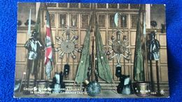 Group Old Scottish Arms & Colours In Banqueting Hall Edinburgh Castle Scotland - Midlothian/ Edinburgh