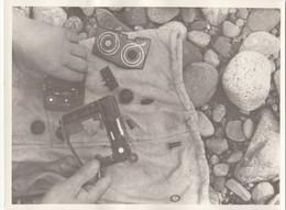"""RUSSIA. #1637 A PHOTO. """"MEN CLEANED THE CASSETTE MAGNETOPHONE. - Proiettori Cinematografiche"""
