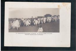 ETHIOPIE Un Dignitaire Abyssin Et Sa Suite Ca 1910 OLD  POSTCARD - Ethiopië