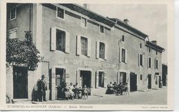 - 07 -  ARDECHE  - SAINT-MARCEL-les-ANNONAY -  Route Nationale      Carte Photo - Hotels & Restaurants