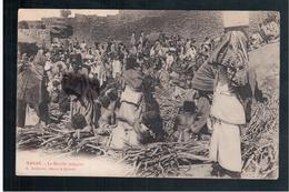 ETHIOPIE Harar Le Marche Indigene 1905 OLD  POSTCARD - Ethiopië