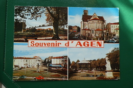 Souvenir D'agen (lot Et Garonne) Carte Non écrite - Agen