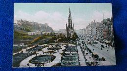 Princes Street And Scott Monument Edinburgh Scotland - Midlothian/ Edinburgh