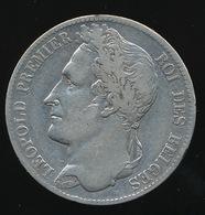 BELGIE LEOPOLD I  5 FRANCS   1844    PRACHTSTAAT     4 SCANS - 11. 5 Francs