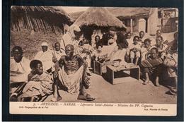 ETHIOPIE Le Pansement Des Lépreux à La Léproserie (Abyssinie) Ca 1910 OLD  POSTCARD - Ethiopië