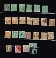 Lot France Classiques à Identifier - Stamps