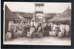 ETHIOPIE  Groupe Général De La Léproserie De HARAR ( Abyssinie ) Ca 1910 OLD  POSTCARD - Ethiopië