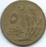 Turkey - AH1341 (1923) - 5 Kurus - KM831 - Turquie