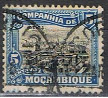 COMPAGNIE DE MOZAMBIQUE 18 // YVERT 123 // PORT DE BEIRA // 1918-25 - Mozambique