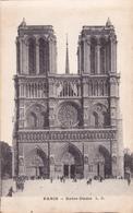 CPA 75 @ PARIS NOTRE DAME CATHEDRALE - Notre Dame De Paris