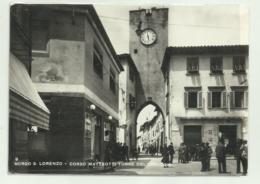 BORGO SAN LORENZO - CORSO MATTEOTTI TORRE DELL'OROLOGIO  VIAGGIATA FG - Firenze (Florence)