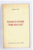DOMENICO TETI - PAESAGGI DI CALABRIA '' TERRA DI LUCE '' - ENTE PROVINCIALE PER IL TURISMO - CATANZARO - 1962 - Livres, BD, Revues