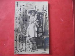 CPA - AUTOGRAPHE - MARIA VINENT - CHANTEUSE D'OPERA - Dédicacée à Constant COQUELIN - Handtekening