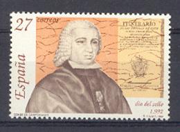 Spain 1992 - Dia Del Sello Ed 3154 (**) - 1931-Hoy: 2ª República - ... Juan Carlos I