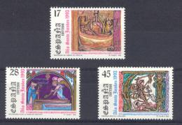 Spain 1993 - A. Jacobeo Ed 3252-54 (**) - 1931-Hoy: 2ª República - ... Juan Carlos I