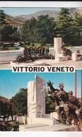 VITTORIO VENETO MONUMENTO A TUTTE LE GUERRE  VG   AUTENTICA 100% - Treviso