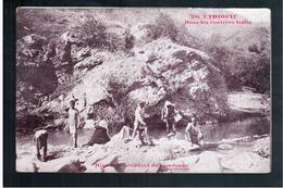 ETHIOPIE Dans Les Contrées Galla - Rivière Descendant Du Gondoudo Ca 1905 OLD  POSTCARD - Ethiopië