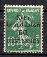 Col 13 /  Syrie   N° 90   Neuf  X MH  Cote 1,40 € - Syria (1919-1945)