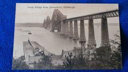 The Forth Bridge From Queensferry Edinburgh Scotland - Midlothian/ Edinburgh