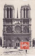 CPA 75 @ PARIS NOTRE DAME En 1913 - CATHEDRALE Et La Flèche - Notre Dame De Paris