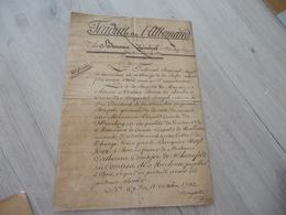 Boyd Ker Banquier Affaire Remboursement Lettres De Changes Basse Autriche De Schonfeld De Michna - Manuscrits