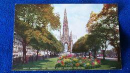 Scott Monument East Princes Street Gardens Edinburgh Scotland - Midlothian/ Edinburgh